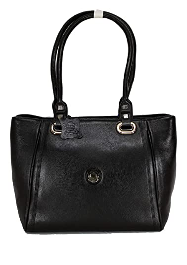 52403f770c62 MOOCHIES Original Leather Hand Bag For Ladies Girls (Black)  Amazon.in   Shoes   Handbags