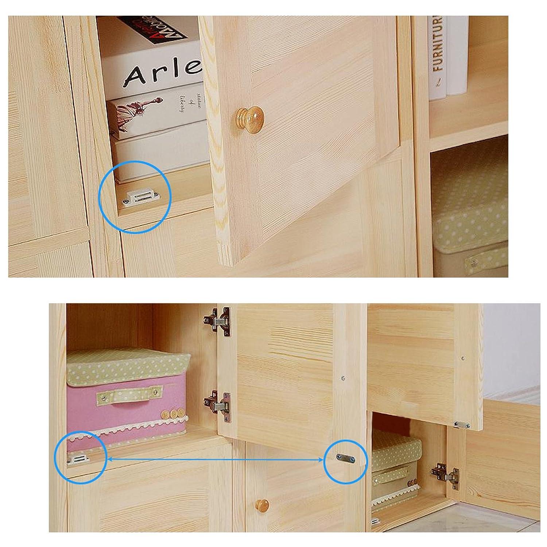 10/x schwer Pflicht Schrank Cabinet T/ür Magnetverschluss Latch Home M/öbel K/üche Kleiderschrank 6/kg Pull stark 45/mm