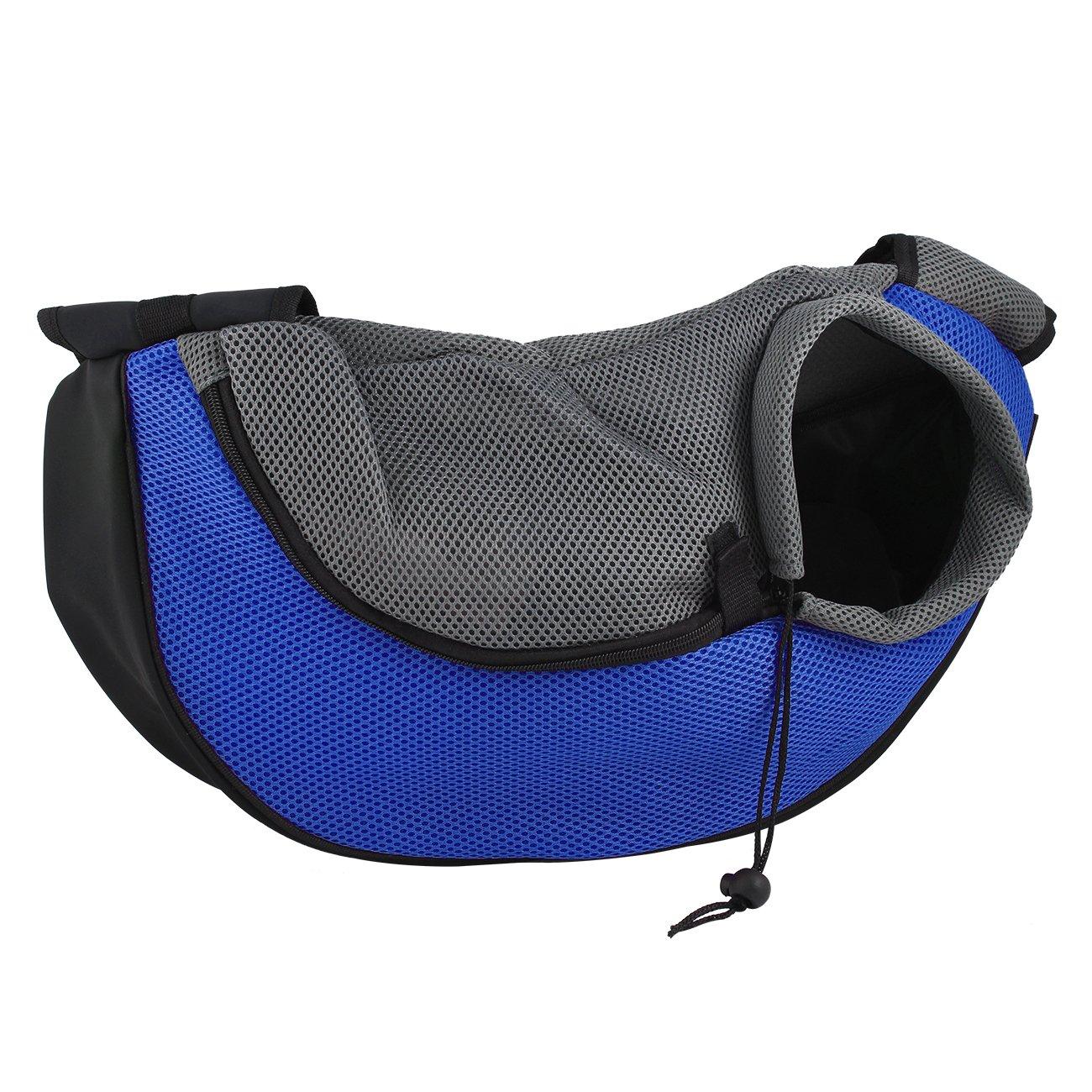 Tera Sac de transport bandoulière 48*12*20cm pour petit et moyen chien/chat (Rose) Pet-Belt-Single(P)