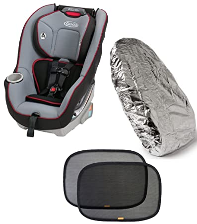 Graco Contender 65 Convertible Car Seat with Car Seat Seat Shade Cover u0026 Window Shades  sc 1 st  Amazon.com & Amazon.com : Graco Contender 65 Convertible Car Seat with Car Seat ...