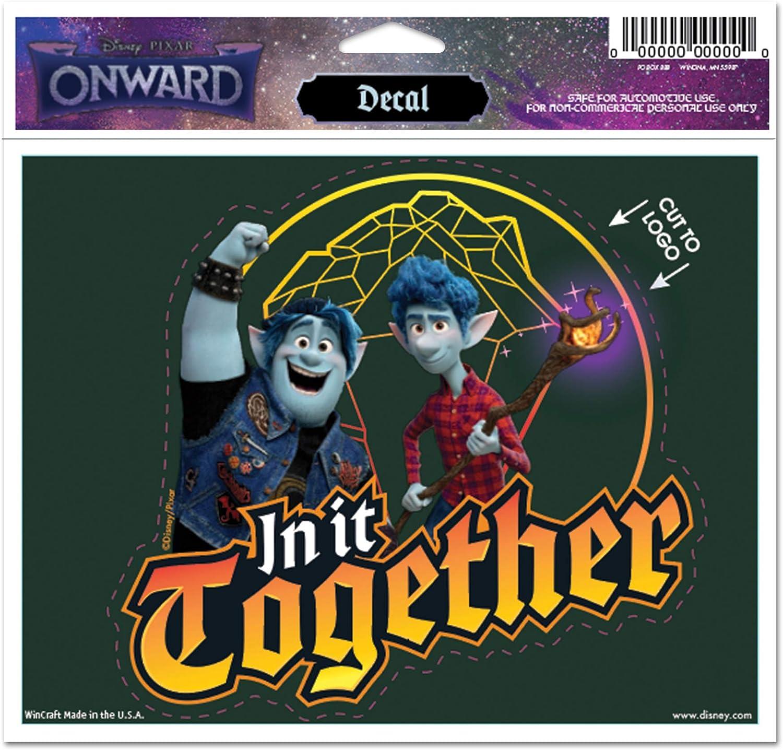 WinCraft Onward Disney Onward Multi-Use Decal Multi One Size Cut to Logo 5 x 6