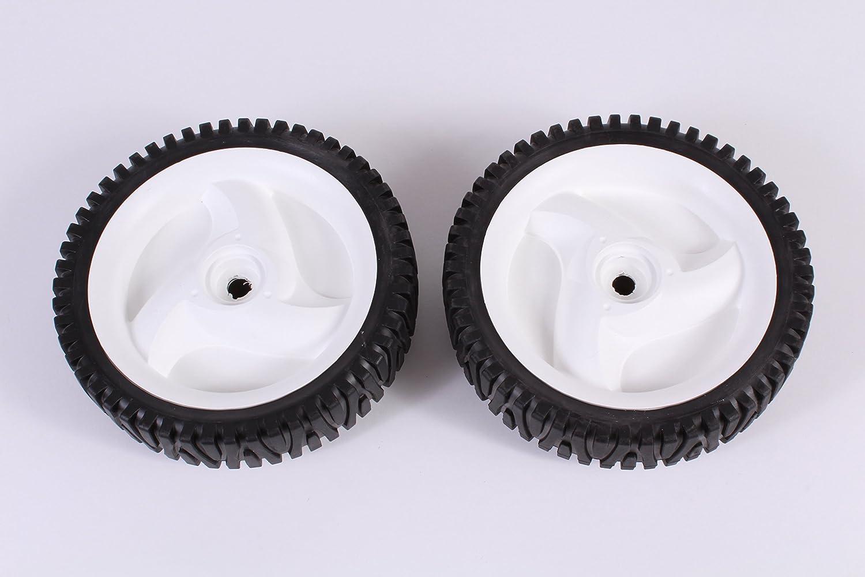 Set of 2 Husqvarna OEM Lawn Mower Front Wheel Tire 532403111 194231x427