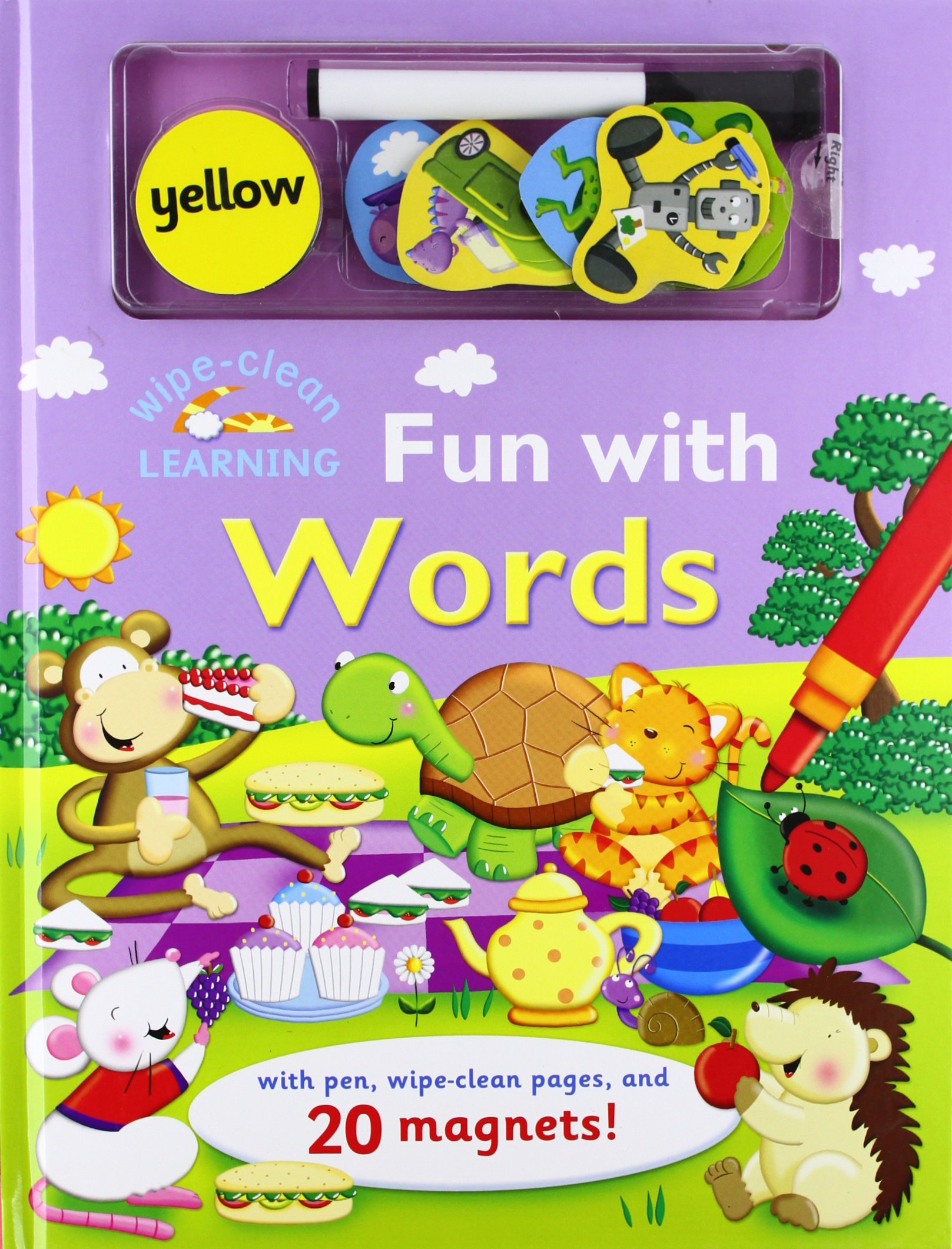 Wipe-Clean: Fun with Words: With Pen, Wipe-Clean Pages, and 20 Magnets! (Wipe-Clean Learning Books) ePub fb2 book