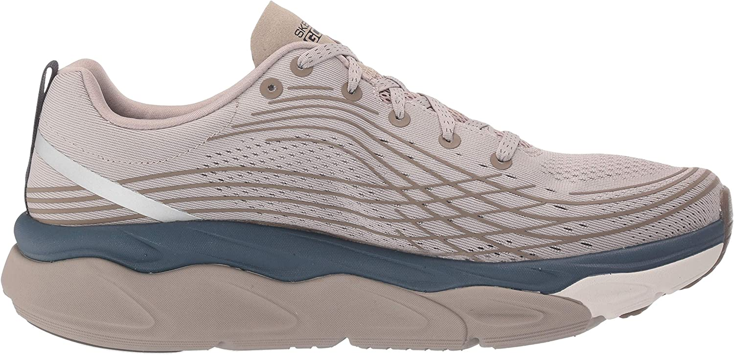 Skechers mens 54440 Max Cushion - 54440 Natural Navy