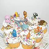 Amazon.com: Disney Finding Nemo Figure Set Cake Topper ...
