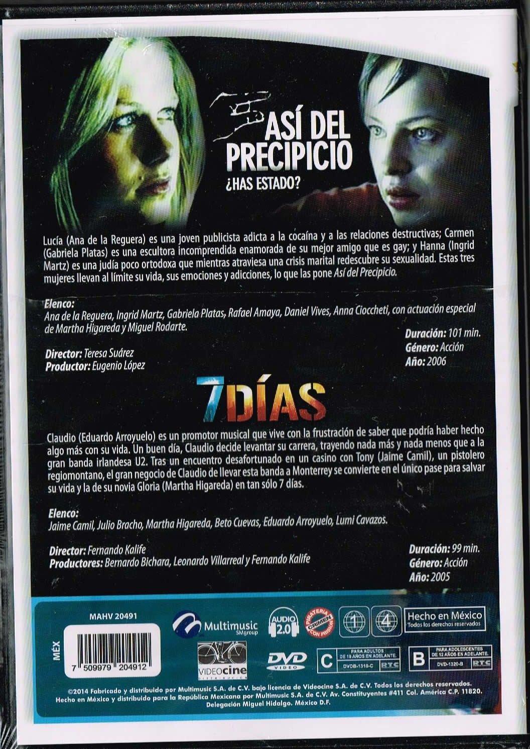 Amazon.com: ASI DEL PRECIPICIO (ANA DE LA REGUERA/INGRID ...