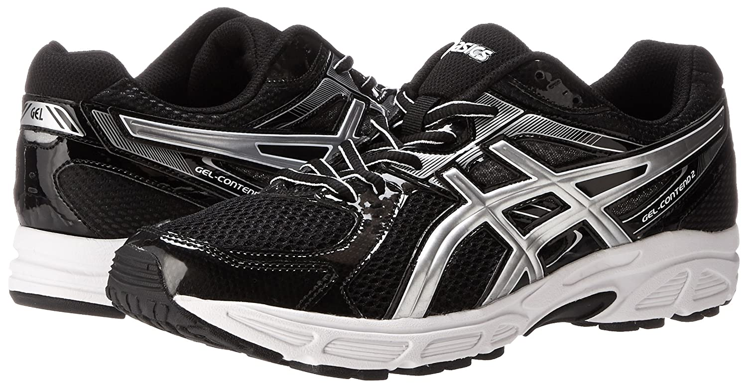 ASICS Men's Gel Contend 2 Running Shoe,WhiteRedBlack,11 M US Import It All