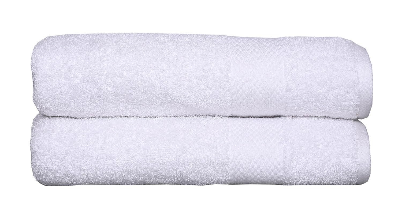 """100% cotton towel set, 2 piece Bath Sheet Set, Turkish Towels, Quick Dry, Super Soft, Absorbent, machine washable, 35""""x70"""" (white, 2 pc set)"""