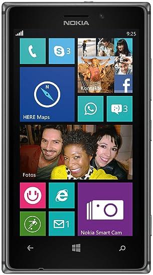 Nokia Lumia 925 Smartphone 114 Cm 45 Zoll Wxga Hd Oled Touchscreen 87 Megapixel Kamera 15 Ghz Dual Core Prozessor Schwarz