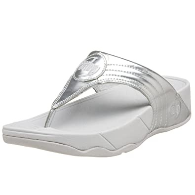32b86c4beaa9 Fitflop Walkstar III Silver Size 7  Amazon.co.uk  Shoes   Bags