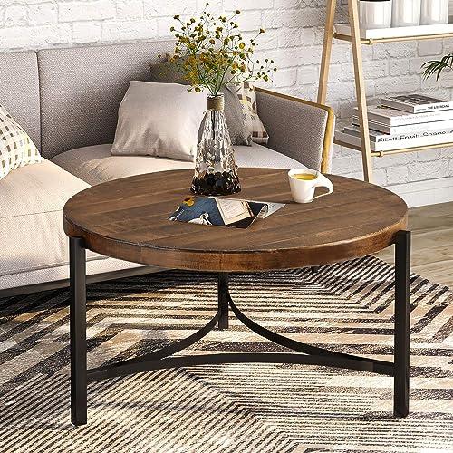 Safavieh Home Tristan Modern Rustic Black Coffee Table