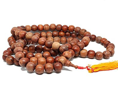 Raro Grande gigante budistas 108 cuentas de Mala gurú de ...