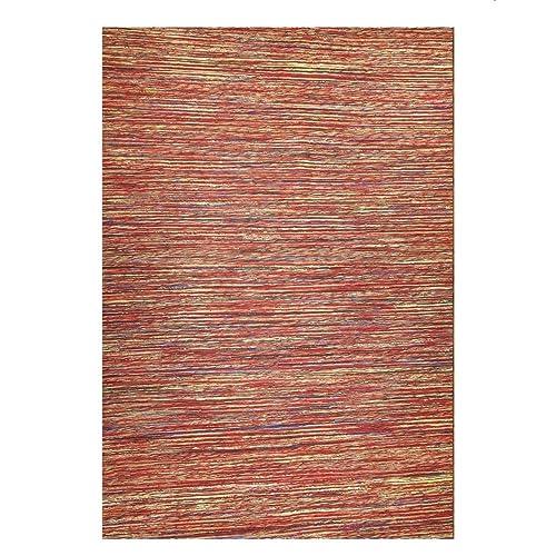 Mats Inc. Sari and Jute Area Rugs, 4 x 6 , Red