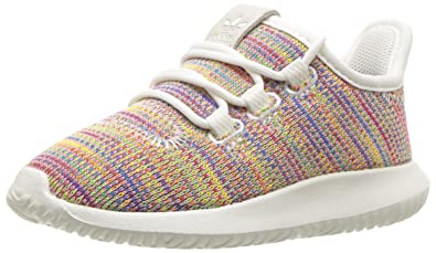 new concept f791b 350ba adidas Originals Unisex Tubular Shadow, White Blue, 5 M US ...