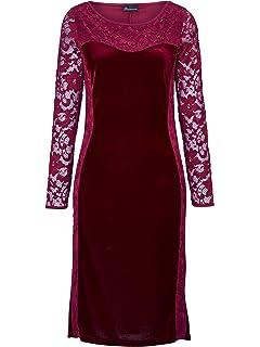 48 Gr Marken Jersey Kleid nachtblau-silber Wickeloptik Gr 50 52 54 0518601989