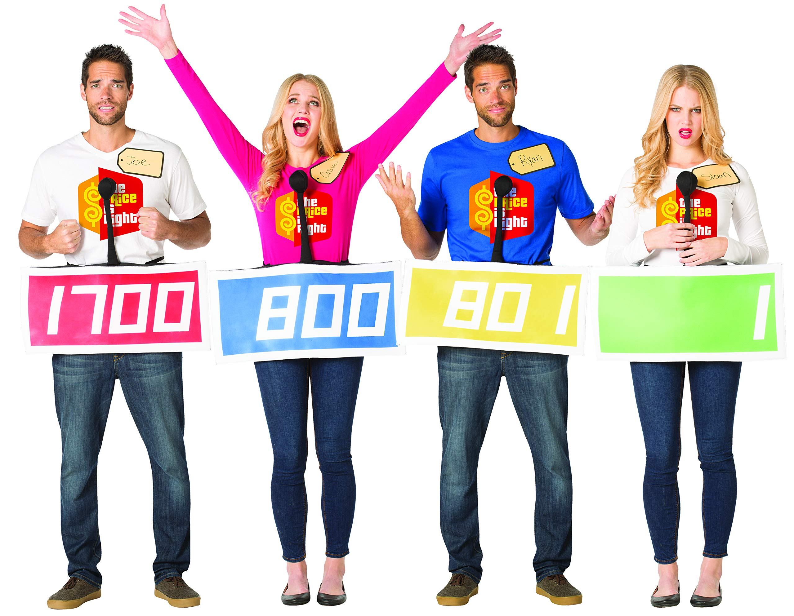 The Price is Right Contestant 4 Pack by Rasta Imposta