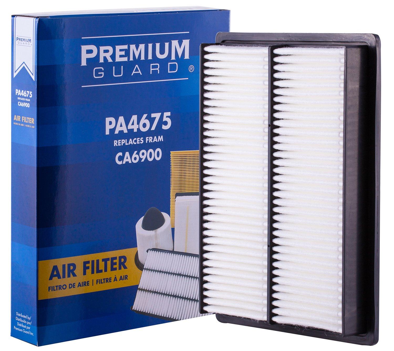 1996-1990 Nissan 300ZX 2013-2008 Nissan Rogue 2018-2014 Infiniti Q70 Fits 2012-2009 Infiniti FX35 Premium Guard Air Filter PA4675
