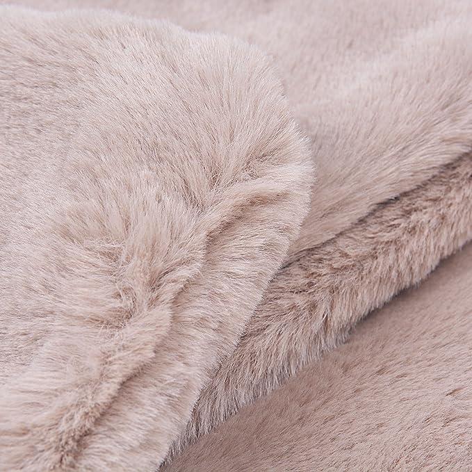 Rancco/® Sciarpa invernale spesso calda per le donne Scaldacollo in pile morbido estremamente morbido