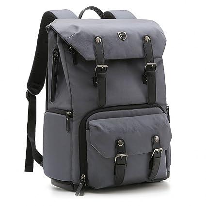 89514b591c2 Amazon.com : BAGSMART Camera Backpack for SLR/DSLR Cameras & 15