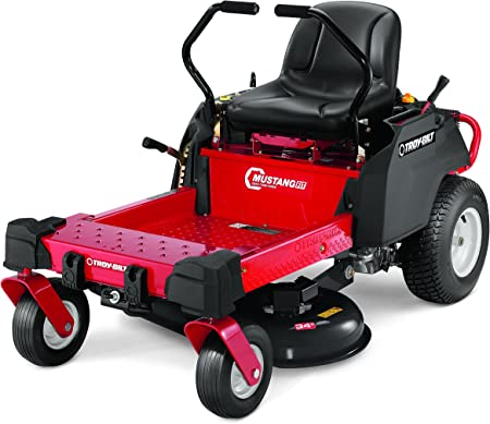 Troy-Bilt Mustang Fit Riding Lawn Mower with 34-Inch Deck and 452cc Engine