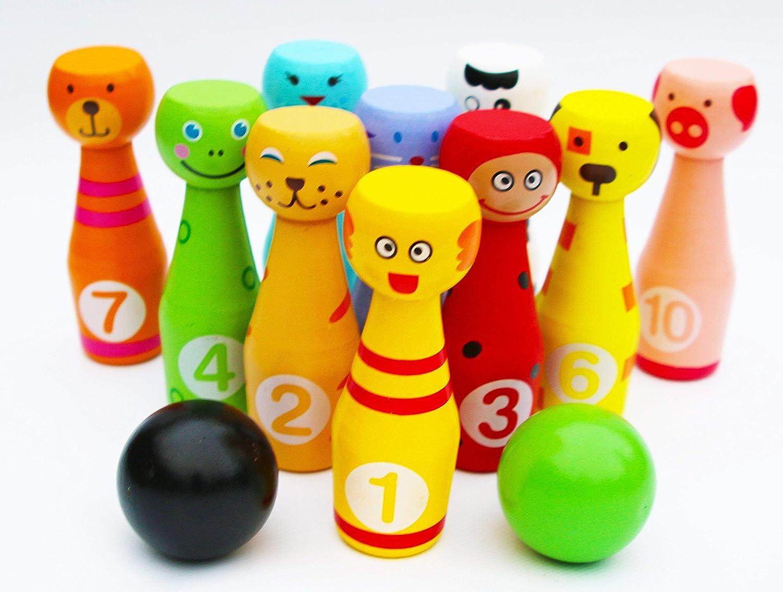 【格安SALEスタート】 Toys of Wood Oxford Wooden of Skittles Faces Set Animal Oxford Faces 12 Pieces B012E7Q4H4, 大府市:7871b1cf --- berkultura.ru