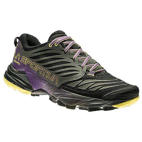 La Sportiva Akasha Woman Black/Purple, Zapatillas de Deporte para Mujer: Amazon.es: Zapatos y complementos