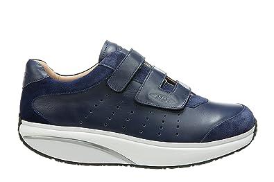 MBT Herren Naven M Slip on Sneaker Blau