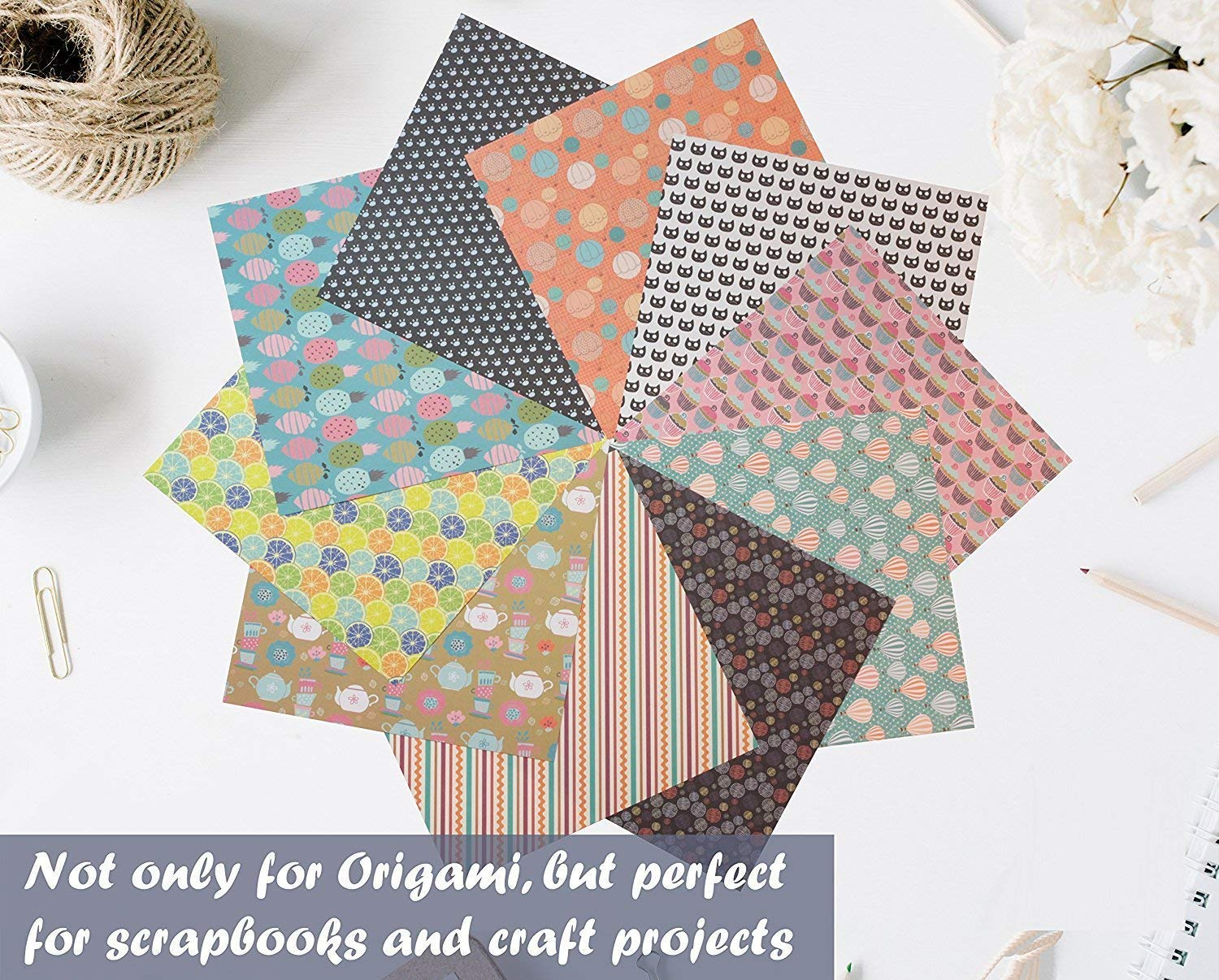 Amazon Origami Paper Set 120 Sheets Traditional Japanese