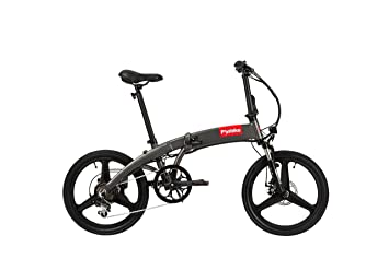 Bicicleta eléctrica compacta plegable, E-Bike, hasta 75 km y 25 km/