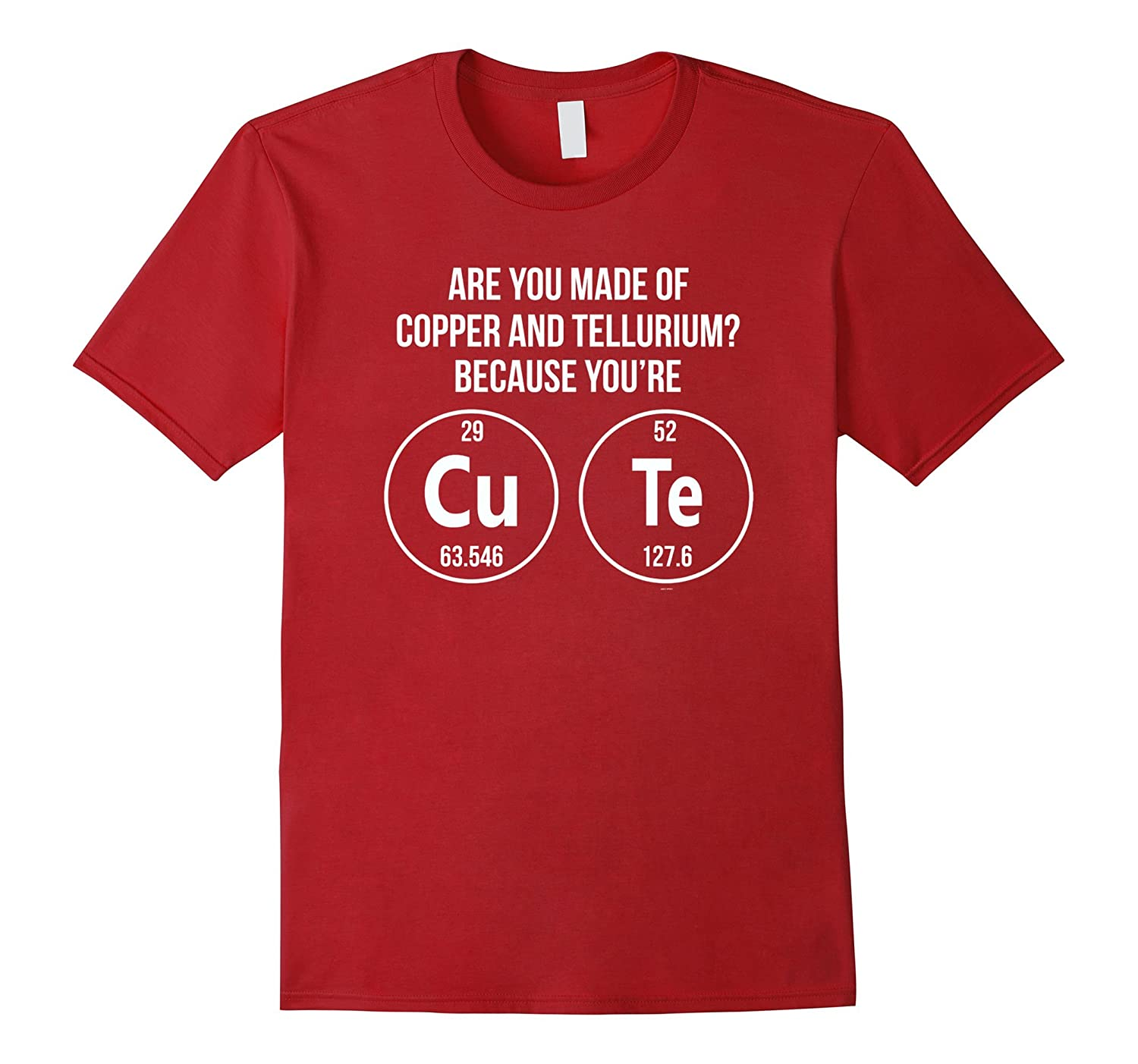 Gifts for chemist or chemistry teachers students funny tee-TD