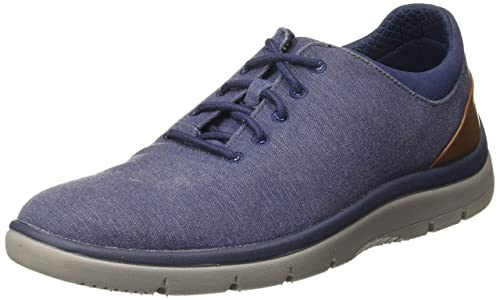 Armstrong Tranquilidad porcelana  Buy Clarks Men's Tunsil Ace Navy Sneakers at Amazon.in