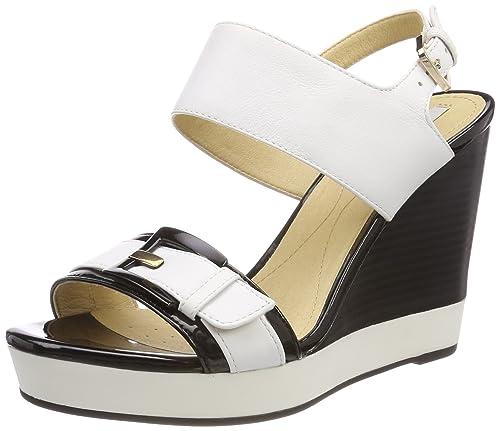 Womens Donna Janira E Platform Sandals, Multi-Coloured, 4 Geox