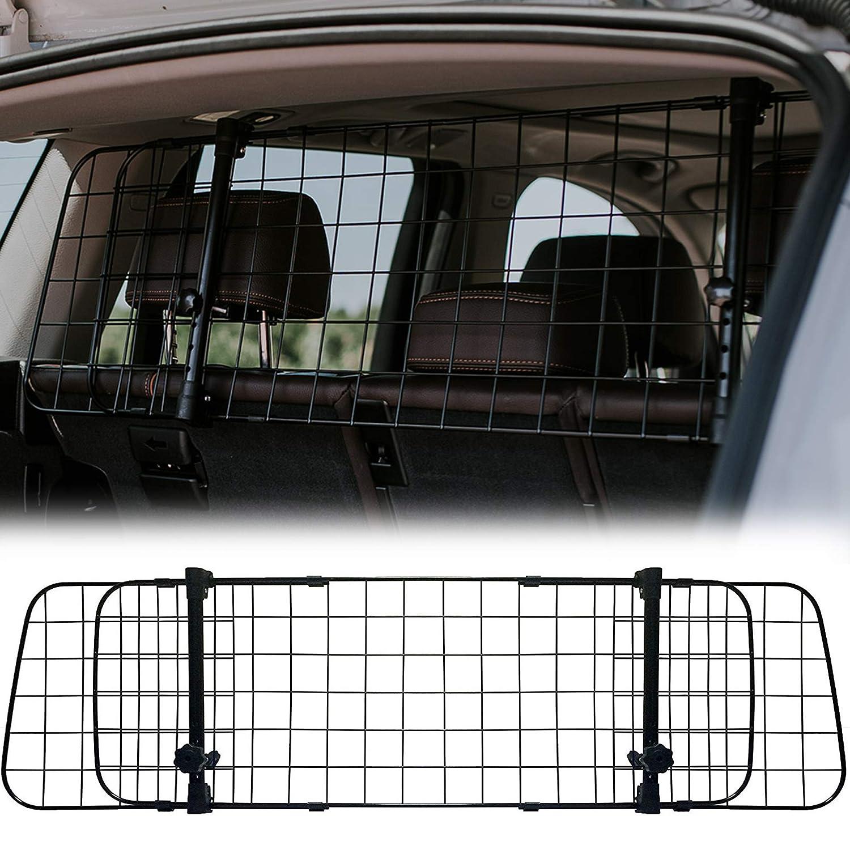 protecci/ón para el maletero para perros para transporte seguro Rejilla de protecci/ón para el maletero de NEEZ para perros rejilla de separaci/ón universal para el coche rejilla de transporte rejilla para perros para coche universal