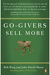 Go-Givers Sell More Kindle Edition