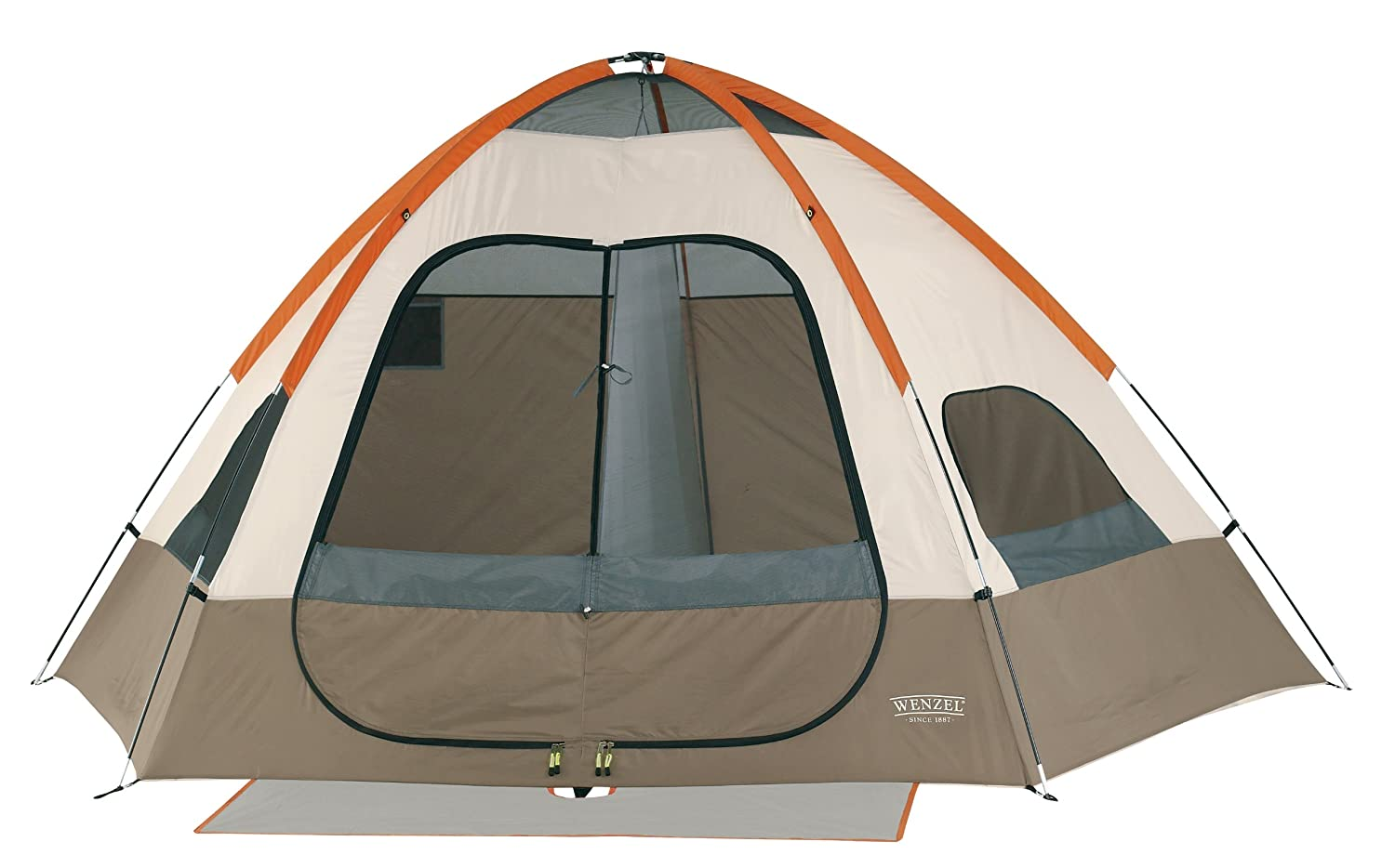 Amazon.com  Wenzel Big Bend 12-by-10 Foot Five-Person Two-Room Family Dome Tent  Sports u0026 Outdoors  sc 1 st  Amazon.com : wenzel klondike family tent - memphite.com
