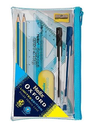 Oxford 930718 Helix Clash - Estuche para lápices, color azul ...