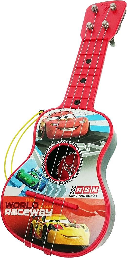 Cars - Guitarra en Estuche, 4 Cuerdas (Claudio Reig 5305.0): Amazon.es: Juguetes y juegos