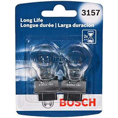 Bosch 3157 Long Life Upgrade Minature Bulb, Pack of 2: Automotive