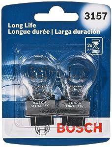 Bosch 3157LL 3157 Light Bulb, 2 Pack