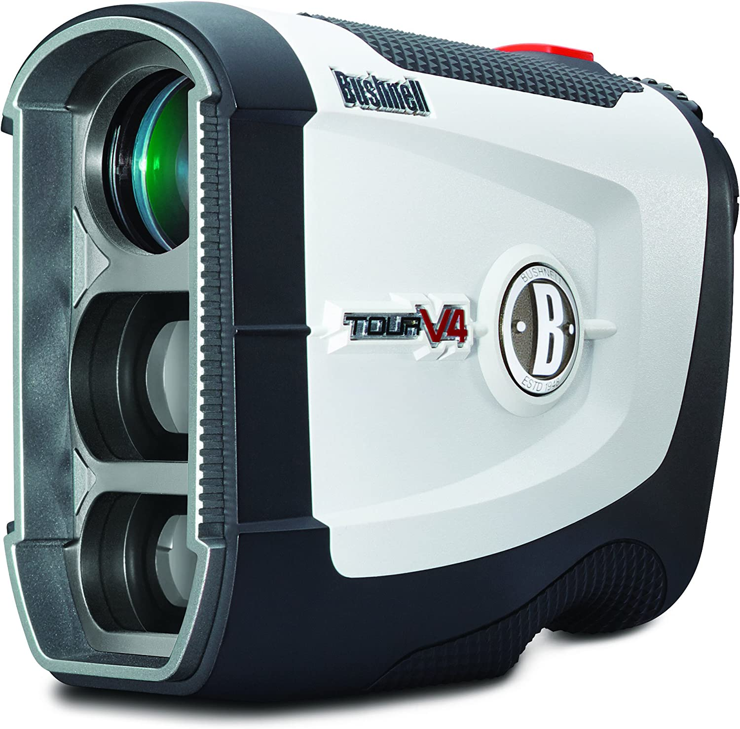 Bushnell Golf 2019 Tour V4 Performance Laser Rangefinder Pinseeker with Jolt Technology