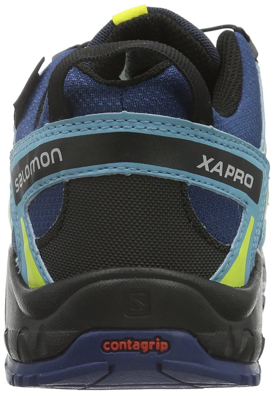 4d28f71bdf4f Salomon Kids Boy s Xa Pro 3D CSWP (Toddler Little Kid) Midnight Blue Blue  Gum Corona Yellow Sneaker 9 Toddler M  Buy Online at Low Prices in India -  Amazon. ...