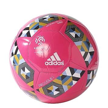 adidas Proligue1Glider Balón de Fútbol, Hombre, Rosa (Rosimp/Negro ...