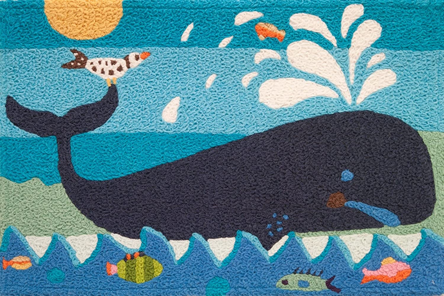 - Amazon.com : Jellybean Whale & Friends Area Rug : Patio, Lawn & Garden