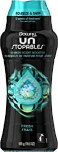 Downy Unstopables in Wash Booster, Fresh Scent, 19.5 Oz