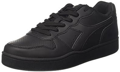 Diadora Playground, Sneakers Basses Homme, Noir (Nero), 36 EU