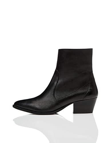 c6a75e2fbf9bc find. Women's Unlined Western Leather Ankle Boots: Amazon.co.uk ...