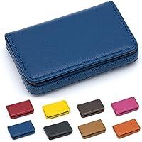 Padike - Tarjetero, ideal para tarjetas de visita, negocios, tarjeta de crédito, tarjeta de identidad, piel sintética de…