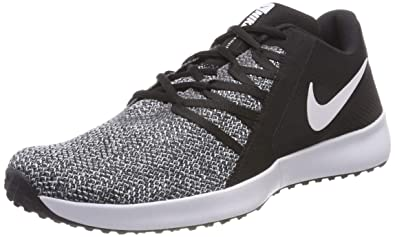 the latest ff76a 22df8 Nike Herren Varsity Compete Trainer Laufschuhe, Schwarz (Black White 001),  42