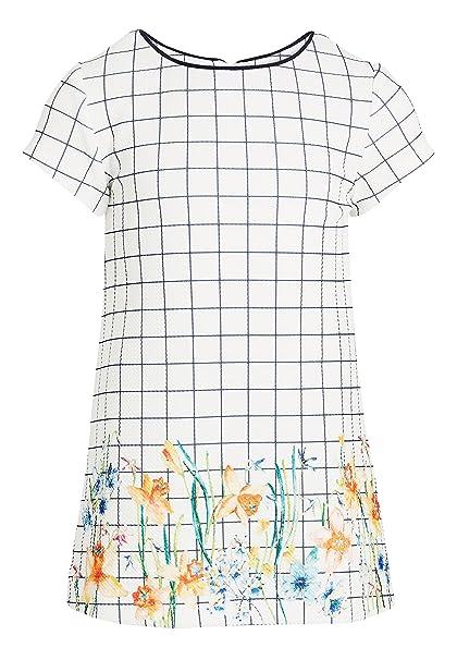 next Niñas Vestido De Punto Roma con Cuadrícula (3 Meses - 6 Años)