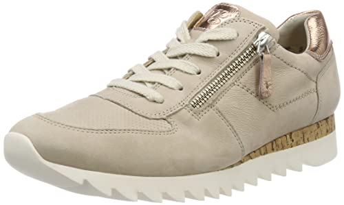 large discount best prices fantastic savings Paul Green Damen Snubuk/Space Met Sabbia/Rose Sneaker
